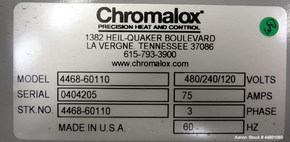 Used- Chromalox Circulation Heater, Model NWH-06-040P-F1XX
