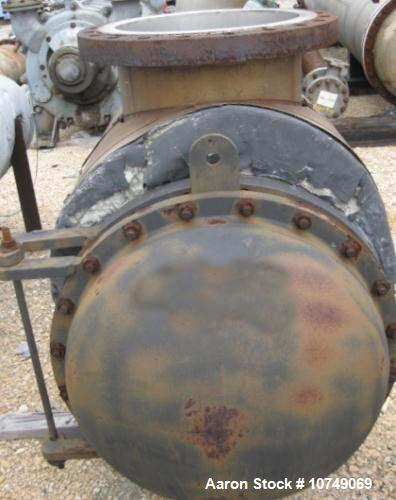Used-Continental Fabricators Heat Exchanger, shell and tube