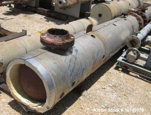 Used-Ledco Heat Exchanger, shell and tube
