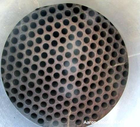 Used- Pfaudler Shell & Tube Heat Exchanger, 367 Square Feet, Model 16108-BEM. Hastelloy B2 tubes, tube sheets and bonnets. (...