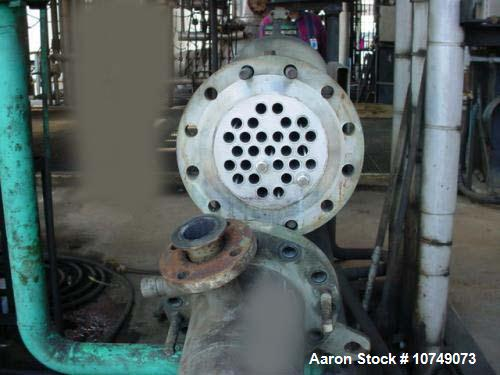 Used-Southern Heat Heat Exchanger, shell and tube