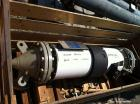 Used- AstroCosmos Shell & Tube Heat Exchanger, 35 Square. Feet, Vertical. Type BEM-10-1-48. (45) 3/4