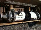 Used- AstroCosmos Shell & Tube Heat Exchanger, 25 Square. Feet, Vertical. Type BEM-8-1-48. (32) 3/4