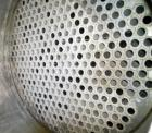 Used- Atlas Shell and Tube Heat Exchanger, 405 square feet, vertical. Type BEM21-72. Carbon steel shell with expansion ring,...