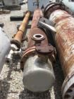 Used-Doyle & Roth Heat Exchanger, shell and tube