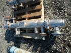 Used- Doyle & Roth Shell & Tube Heat Exchanger, 13 Square Feet. Hastelloy C22 tubes, tube sheets and bonnet. (17) 0.75