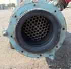 Used- Pfaudler Shell & Tube Heat Exchanger, 119 Square Feet. Hastelloy C276 tubes, tube sheets. (76) 0.75