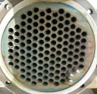 Used: Pfizer Monel shell and tube heat exchanger, approximately 241 square feet, horizontal. Carbon steel shell rated 150 ps...