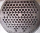 Used- Titanium Industries Shell and Tube Heat Exchanger, 151 square feet, horizontal. Tema Type BEM, Tema Size 14-72. Carbon...