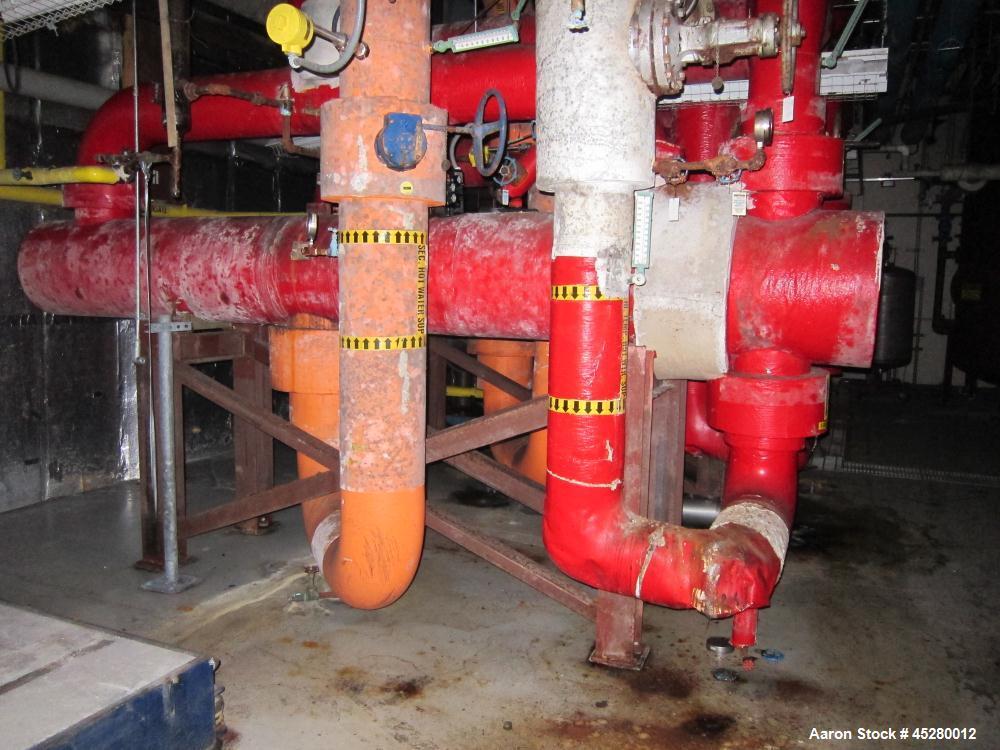 Used-ITT Heat Exchanger, carbon steel shell and tube, Horizontal, U-Tube