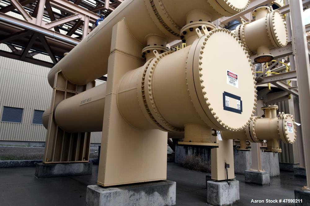 Unused- Heat Transfer Equipment U Tube Shell & Tube Heat Exchanger, 4067 Square Feet, Type AEU, Size 44-240, Horizontal. Car...