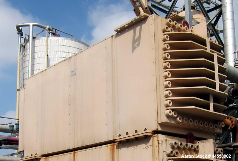 Used-DDI Heat Recovery Heat Exchanger, Model DDI-3X5.75X 7 X 3.8 X 8 X 11X.875M, Rated 720 psi.  Utilized as a preheater to ...