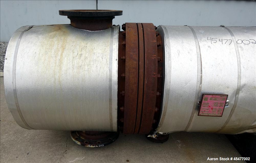 Used- Horizontal Heat Transfer Systems U-Tube Shell and Tube Heat Exchanger