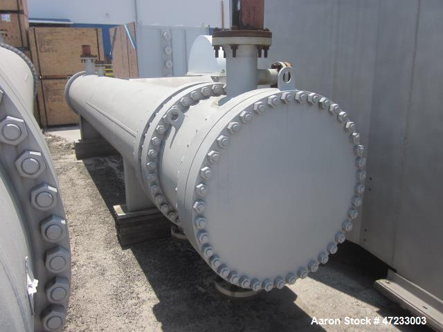 Unused- Hughes-Anderson 4 Pass Shell & Tube Heat Exchanger