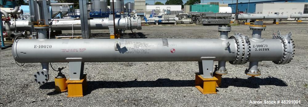 Unused- Ilsung Corporation U Tube Shell & Tube Heat Exchanger, Approximate 353 S