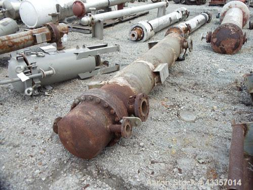 Used- Ketema U Tube Shell & Tube Heat Exchanger, 258 Square Feet