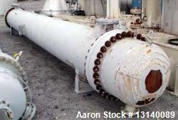 Unused- Gaspar Inc. Approximately 3800 Square Foot (single-pass) Shell and Tube