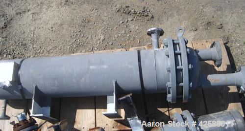 Used- Pfaudler U Tube Heat Exchanger, 56.4 square feet, horizontal. Carbon steel shell rated 150 psi at -20 to 375 deg F. (3...