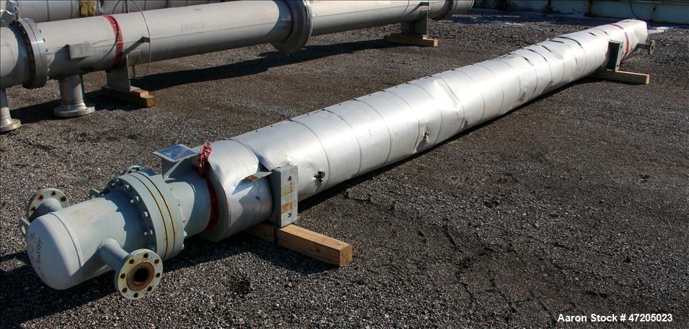 """Unused- SteelTek """"U"""" Tube Heat Exchanger, Approximate 250 Square Foot, Horizonta"""
