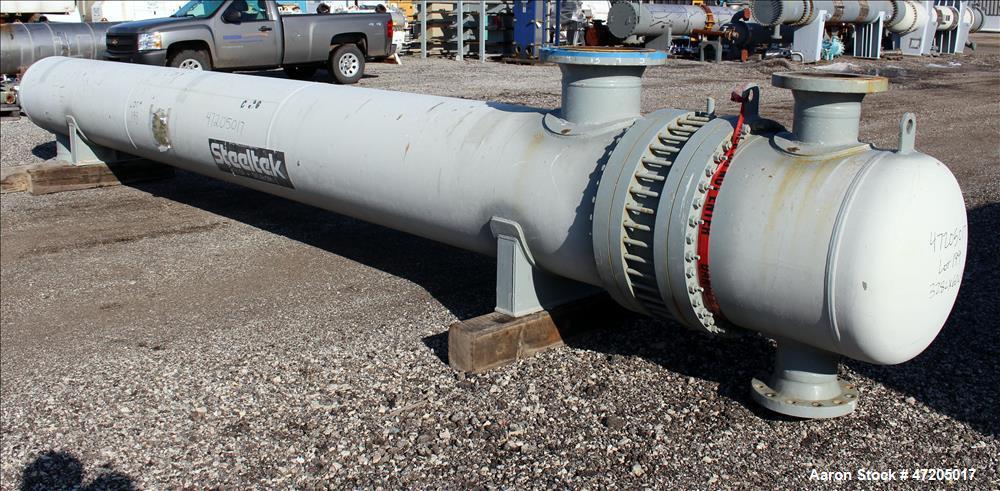 """Unused- Steeltek """"U"""" Tube Heat Exchanger, Approximate 2,311 Square Foot, Type BE"""