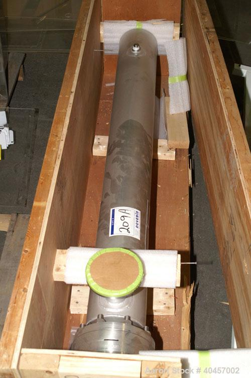 Used- WFI stainless steel heat exchanger. Brand new in crate.