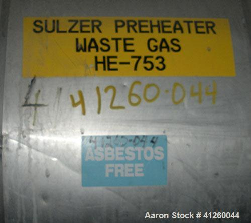 """Used-Heat Exchanger. Shell approximately 30"""" diameter x  22' 6"""" long.  Shell is rated 2758 psi @ 204 deg C. Tubes 4482 psi @..."""