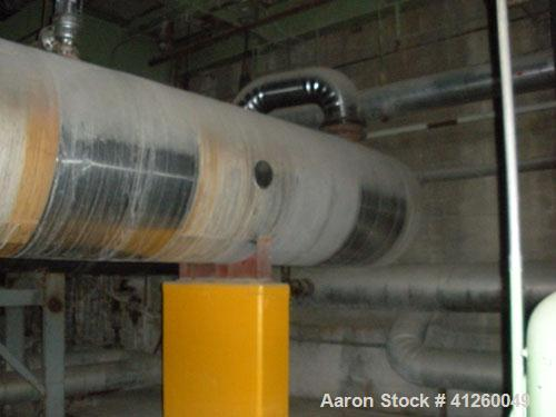 Used-Exchanger Sales & Service Heat Exchanger. Shell design pressure 185 psi @ 650 deg F, tube design pressure 1000 psi @ 65...