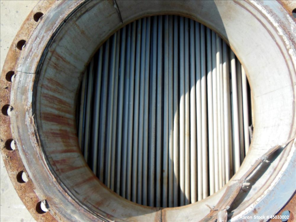 Used- SPC 2 Pass Shell & Tube Heat Exchanger