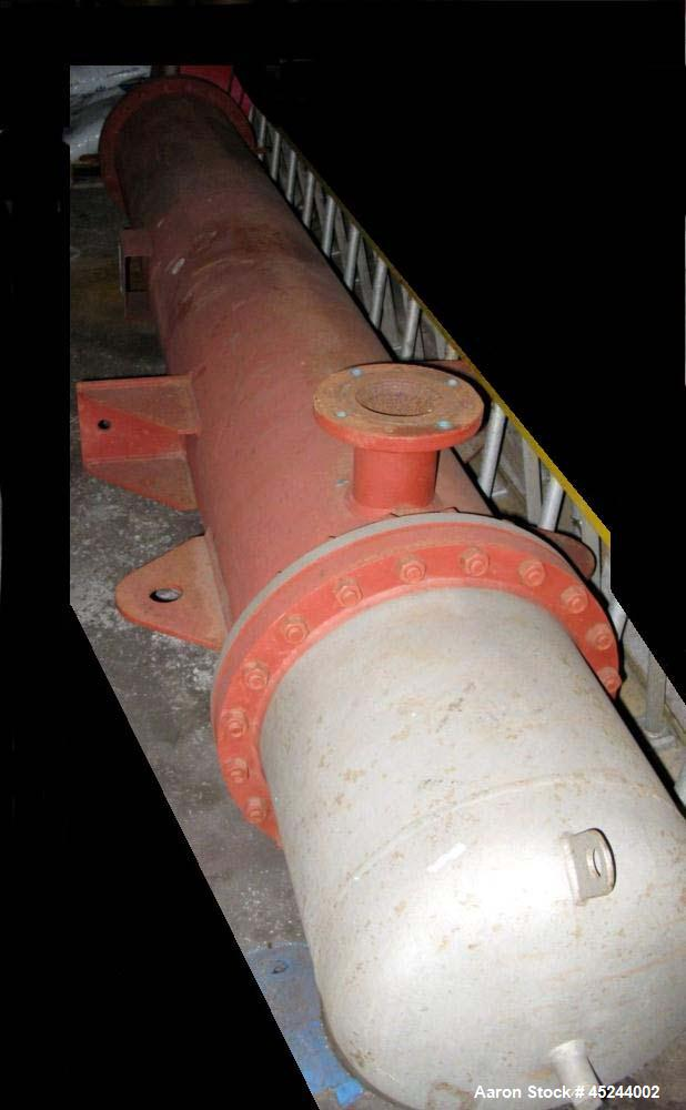 Used- Southern Heat Exchanger Vertical mount from side lugs, approximately 475 square feet. Has (249) tubes, 16 BWG, 10' lon...