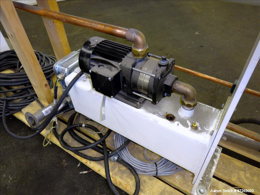 Used- Aasted-Mikroverk Shell and Tube Type Heat Exchanger, Type 6m2, Approximate