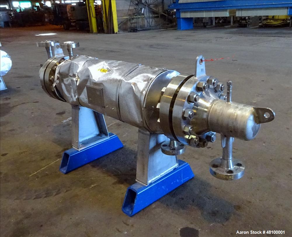 Used- ADM Stainless Inc. Heat Exchanger, Model CV.