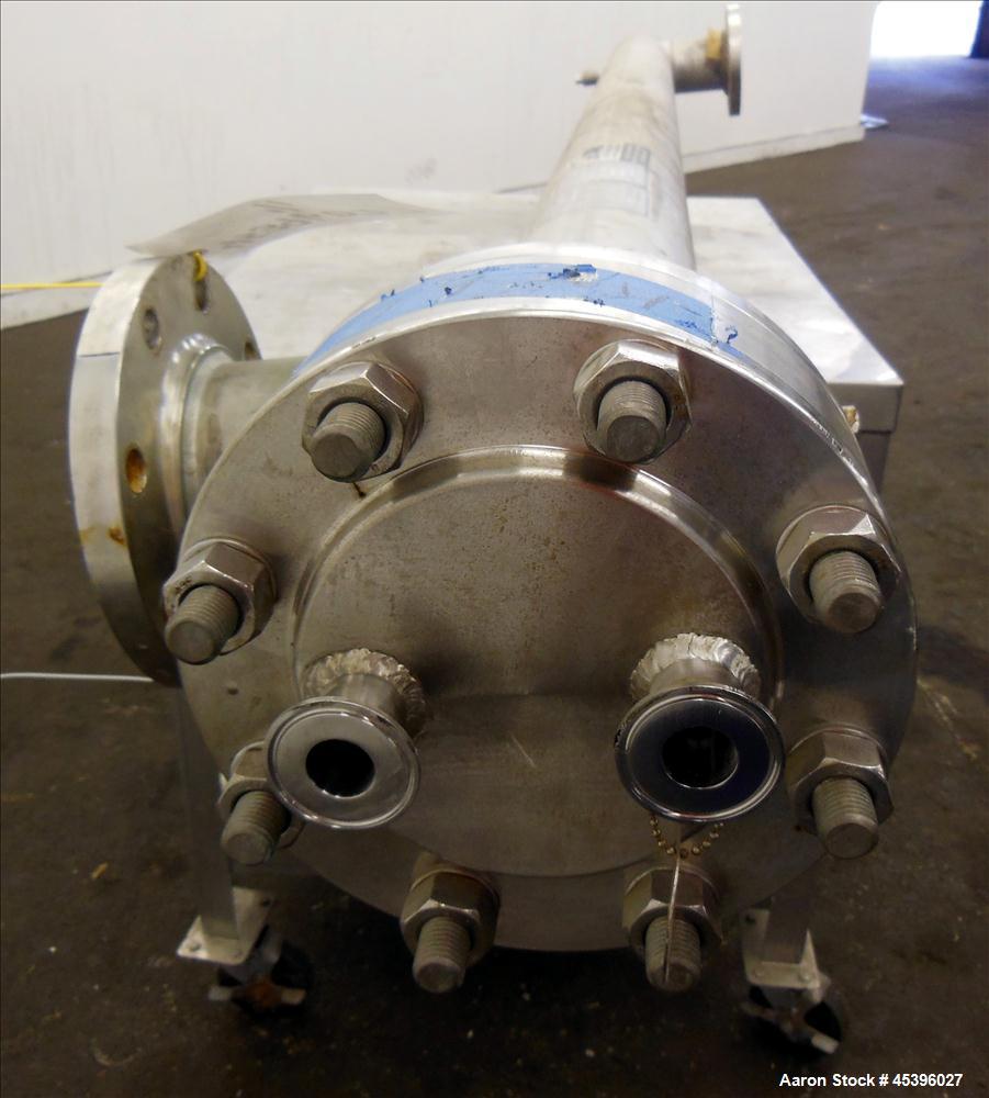 Used- Allegheny Bradford 2 Pass U Tube Heat Exchanger