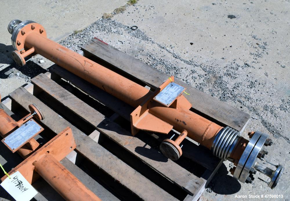 Unused- Ambassador Heat Transfer Single Pass Shell & Tube Heat Exchanger, 5.88 Square Feet, Vertical. Carbon steel shell rat...
