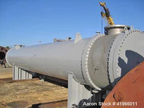 Unused- Atlas Industrial 2 Pass Shell and Tube Heat Exchanger, type AEM 60-360