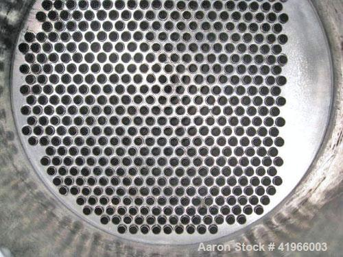 Unused- Atlas Industrial Single Pass Shell and Tube Heat Exchanger, 1274 square feet, vertical, type BEM 26-144. Carbon stee...