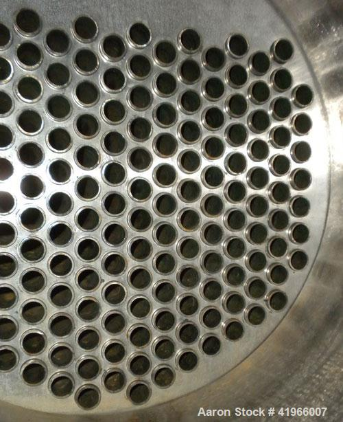 Unused- Atlas Industrial Single Pass Shell and Tube Heat Exchanger, 355 square feet, horizontal, type BEM 16-120. Carbon ste...