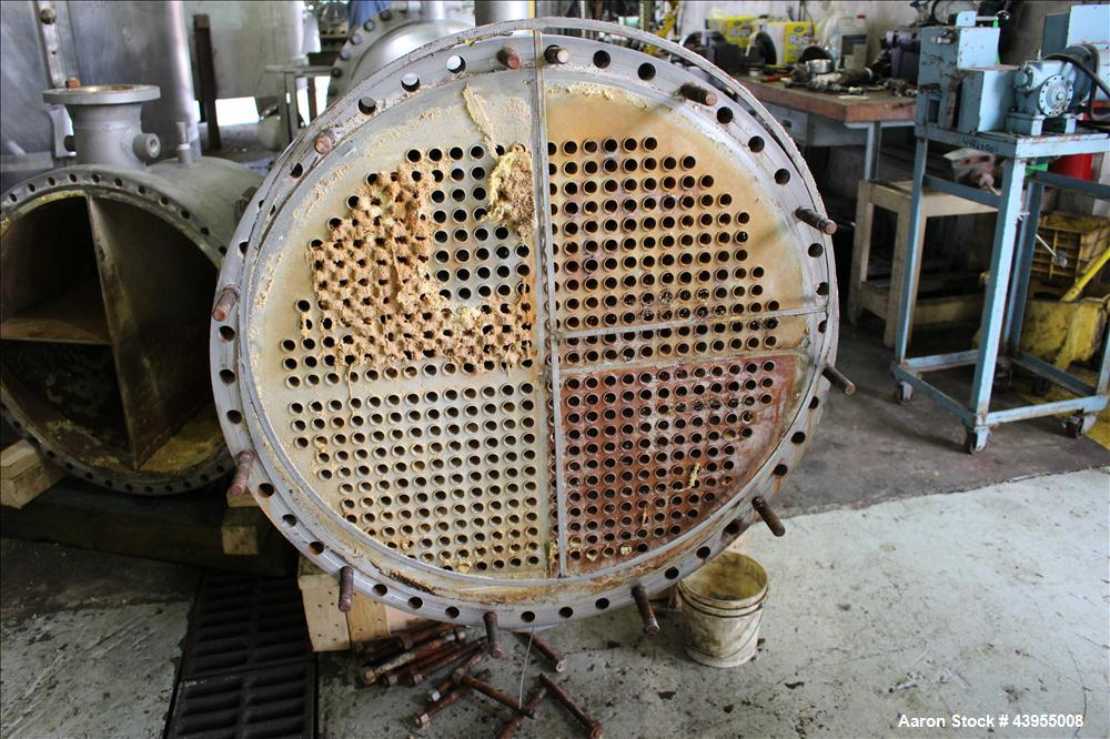 Used- Exchanger Repair Service Multiple Pass Shell And Tube Heat Exchanger