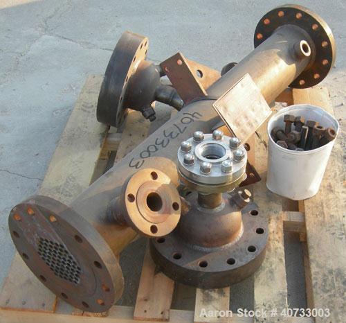 Used- Chemineer Shell & Tube Heat Exchanger, Model 6-50