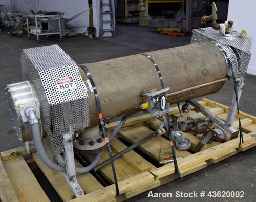 Used- Chromalox Circulation Heater, Model GCH-45903VXX. 90 Kw, 3/460 volt. Designed for steam, gas, and air heating. Heating...