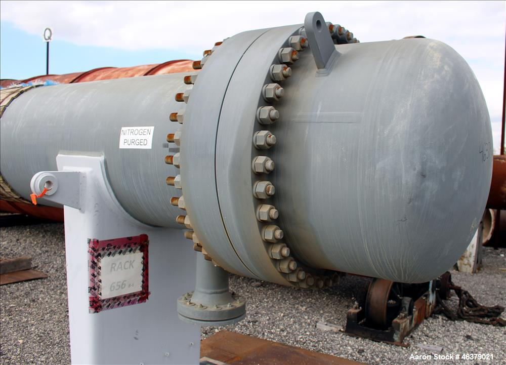 Unused- Daekyung Shell and Tube Heat Exchanger, 2097 Square Feet, Carbon Steel,