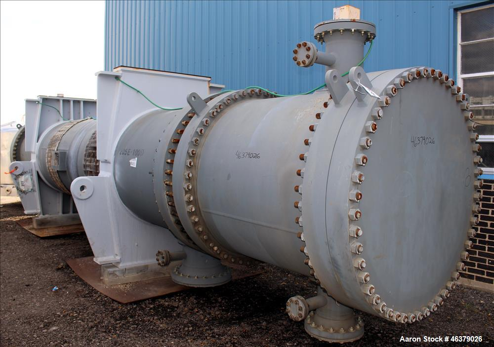 Unused- Daekyung Shell and Tube Heat Exchanger, 6,179 Square Feet, Carbon Steel,