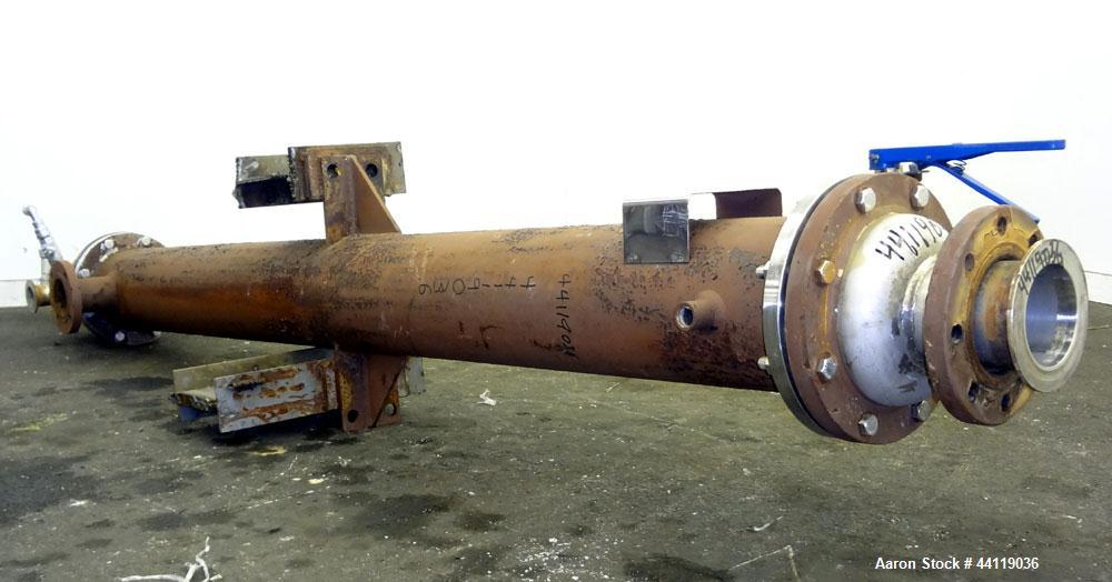 Used- Doyle and Roth Single Pass Shell & Tube Heat Exchanger
