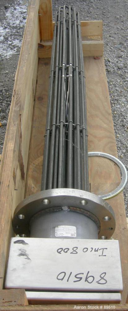 Unused- Gaumer Electrically Heated Bayonet Heater, 180 kW, Cat# S8F21N61H4LTK, Inconel 800