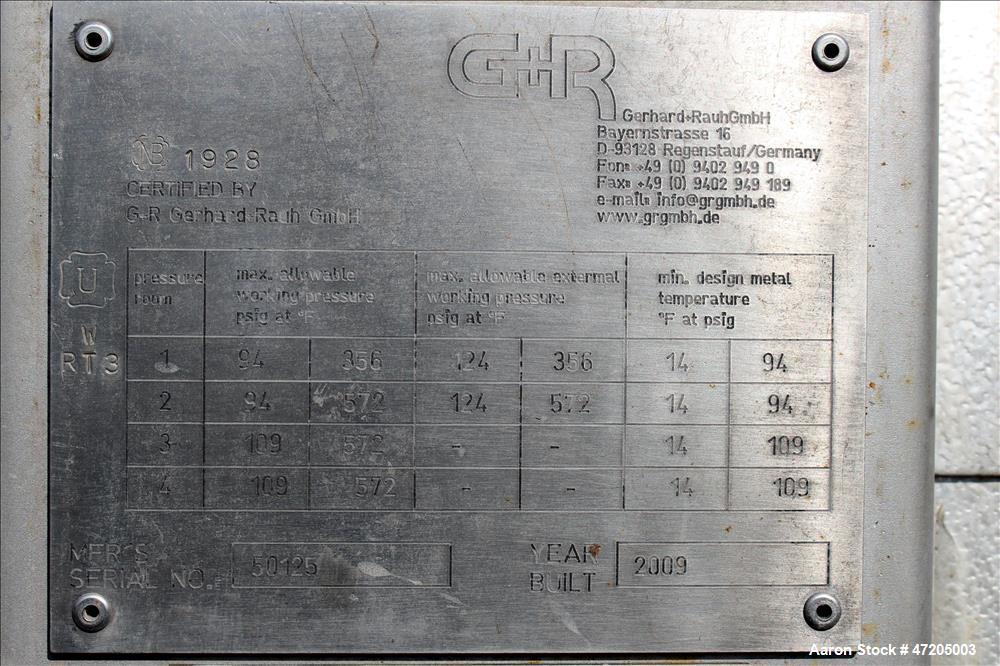 """Unused- G+R Gerhard+Rauh GMBH """"U"""" Tube Heat Exchanger"""
