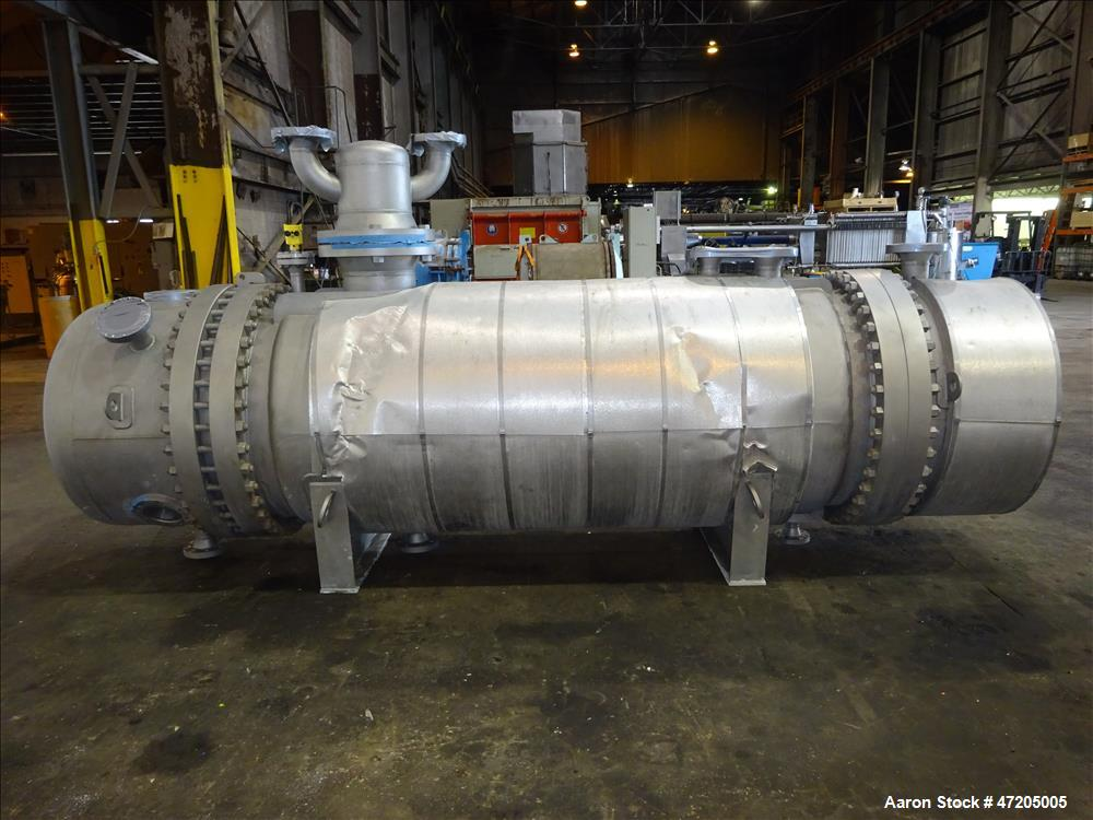"Unused- G+R Gerhard+Rauh GMBH ""U"" Tube Heat Exchanger"