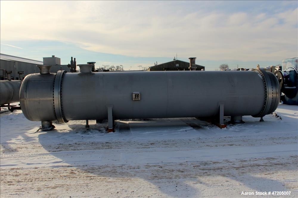 Unused- Harris Thermal Transfer Products 2 Pass Shell & Tube Heat Exchanger, Approximate 8,391 Square Foot, Type BEM, Size 5...