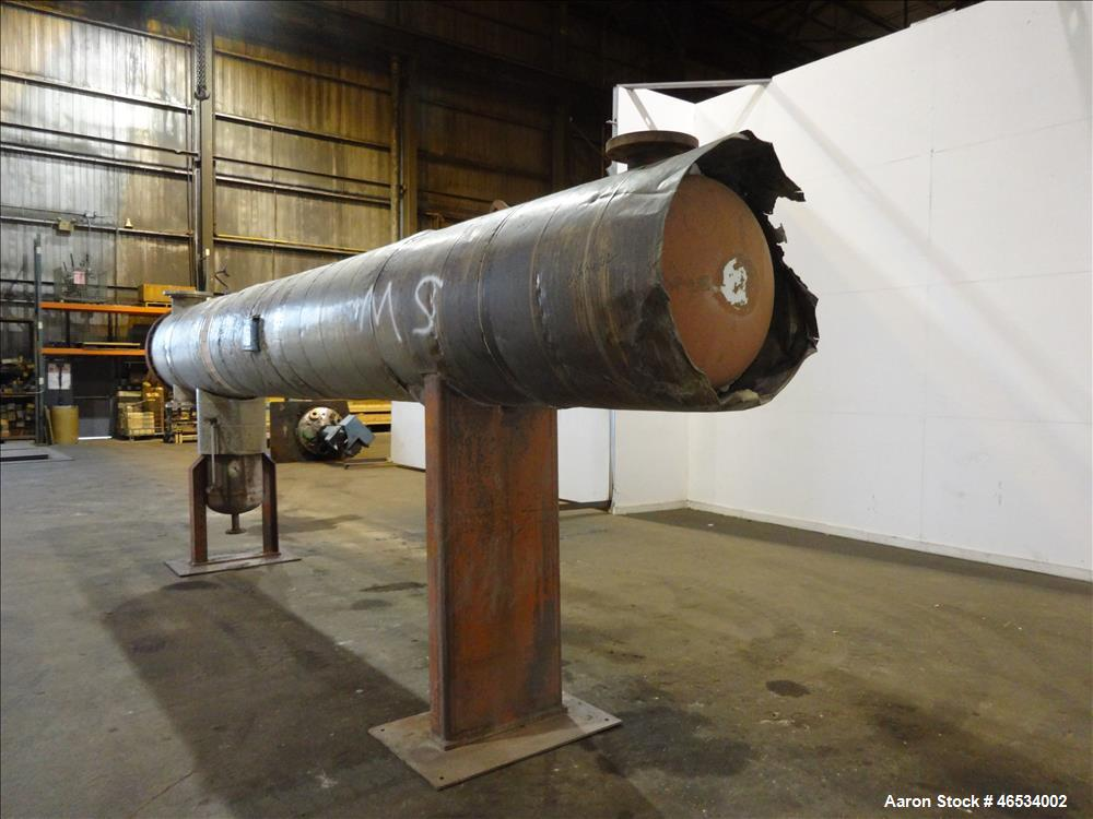 Used- Harris Thermal Transfer Products 4 Pass U Tube Shell & Tube Heat Exchanger