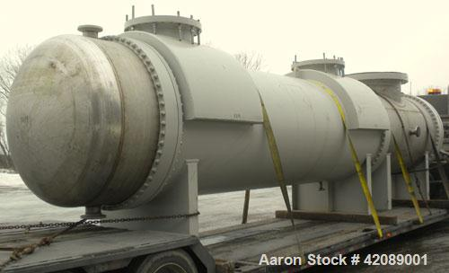 Unused- Heat Transfer Systems Single Pass Shell and Tube Heat Exchanger, horizontal, type AEM 71-216