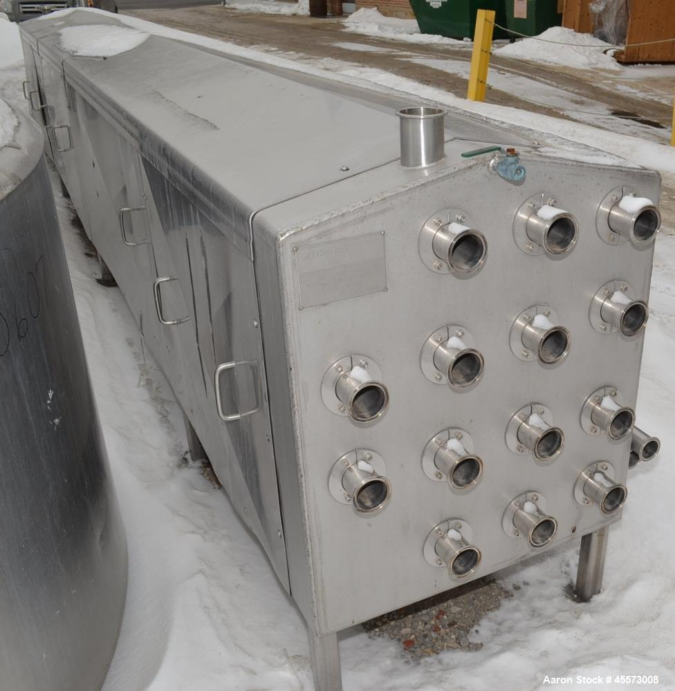 Used- Fran Rica 183 Square Foot Tube Heat Exchanger, Model HZMOLKX01