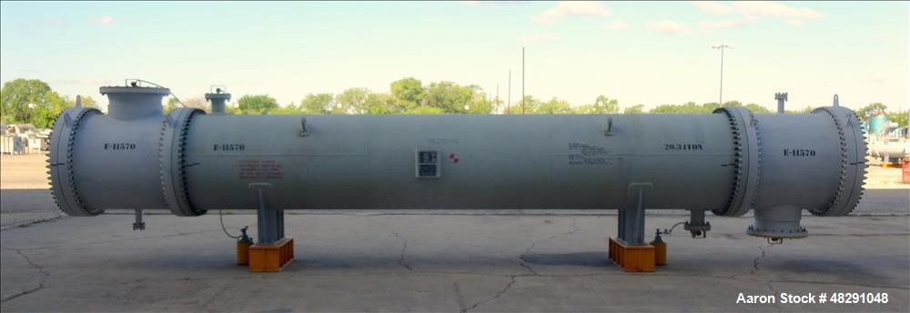 Unused- Ilsung Corporation Single Pass Shell & Tube Heat Exchanger.